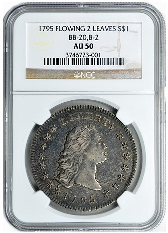 gc 1795 dollar GreatCollections to Auction the Paterson Collection of U.S. Type Coins
