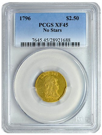 gc 1796 250 nostars GreatCollections to Auction the Paterson Collection of U.S. Type Coins