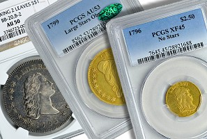 GreatCollections to Auction the Paterson Collection of U.S. Type Coins