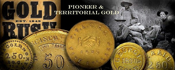gold rush Historic Pioneer Gold Collection To be Displayed At FUN Convention
