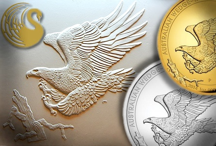 The Coin Analyst: Perth Mint Issues Wedge-Tailed Silver Eagle Coin Design by John Mercanti