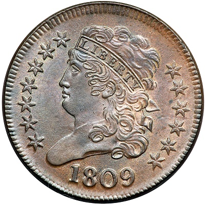 miss 1809 The Missouri Half Cent Coin Collection, Part III: Astonishing $18.26 Million for Tettenhorst Set!