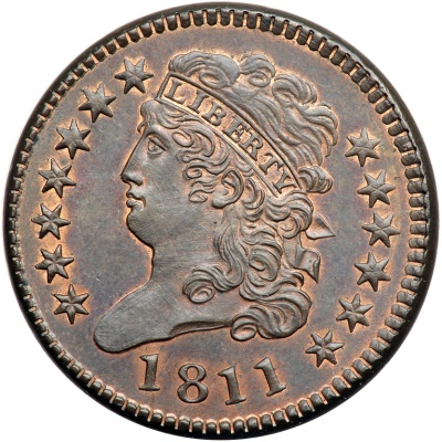miss 1811 The Missouri Half Cent Coin Collection, Part III: Astonishing $18.26 Million for Tettenhorst Set!