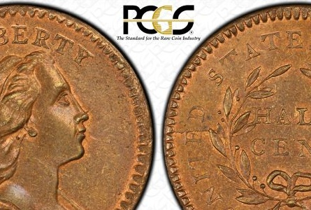 Finest Half Cent Collection in PCGS Set Registry Brings Million Dollar Prices