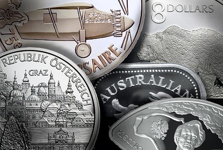 world silver 101 SILVER 101   World Mints : Some coins you may not have considered but should.
