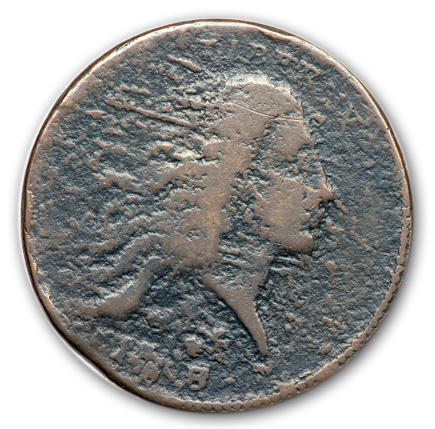 17932 Two of Four Known Strawberry Leaf Large Cents Sell in the FUN Auction of the Mervis Collection