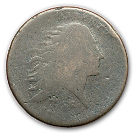 17933 Two of Four Known Strawberry Leaf Large Cents Sell in the FUN Auction of the Mervis Collection