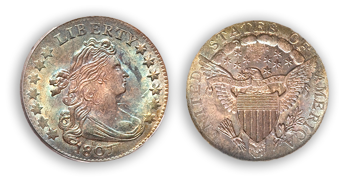 1807d1 The Incredible Eugene Gardner Coin Collection, Part 1: Preliminary Thoughts and Dime Preview
