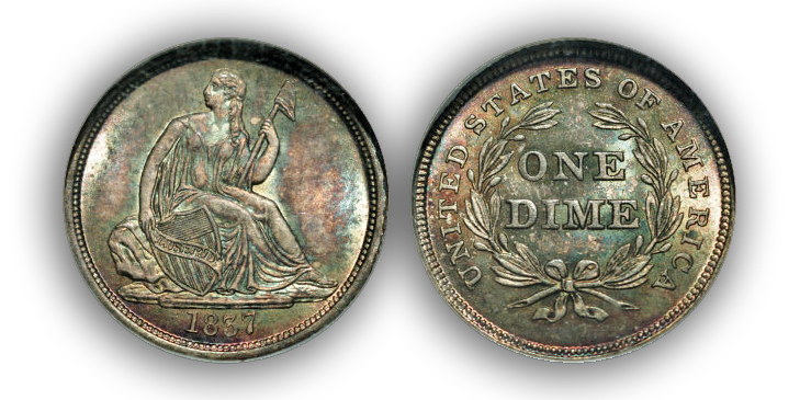 1837 The Incredible Eugene Gardner Coin Collection, Part 1: Preliminary Thoughts and Dime Preview