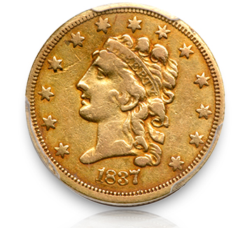 18371 Rare Gold Coins under $5000, Part 1: Classic Head Quarter Eagles ($2½ Gold)