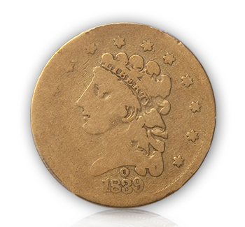18391 Rare Gold Coins under $5000, Part 1: Classic Head Quarter Eagles ($2½ Gold)