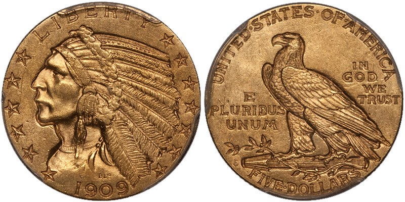 1909 The Ten Most Marketable New Orleans Gold Coins