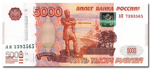 5000 The Sochi 100 Ruble Note and Other Circulating Russian Banknotes: A Brief Primer