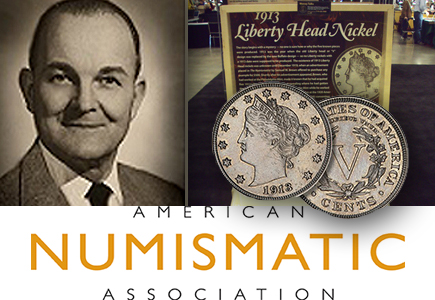 "George Walton (Former 1913 Liberty Head ""V"" Nickel Owner) Heirs Donate $100,000 to the ANA"
