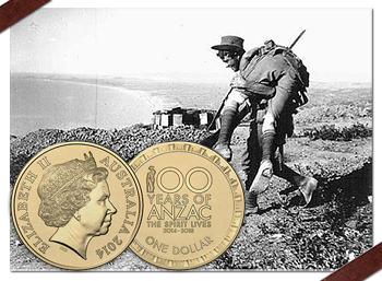 Royal Australian Mint Unveils New Circulating $1 Coin Commemorating Anzac Centenary