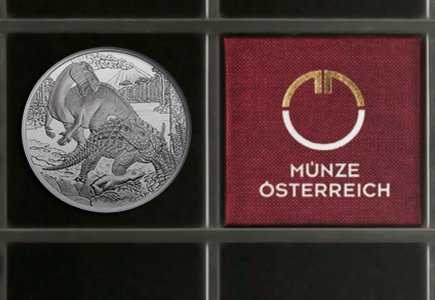 "Austrian Mint Dinosaur Coin ""Cretaceous Period"" Released"