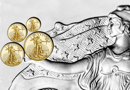 Gold and Silver American Eagles: Big Sellers in a Sluggish Economy