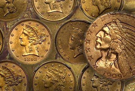 The Ten Most Marketable New Orleans Gold Coins