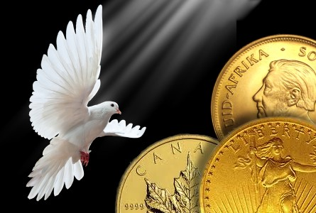 gold dove Gold Soars Past $1,300 an Ounce; Silver Follows Suit
