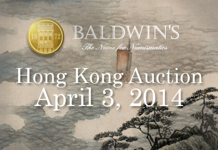 A. H. Baldwin & Sons, Ltd. Announce The Hong Kong Coin Auction