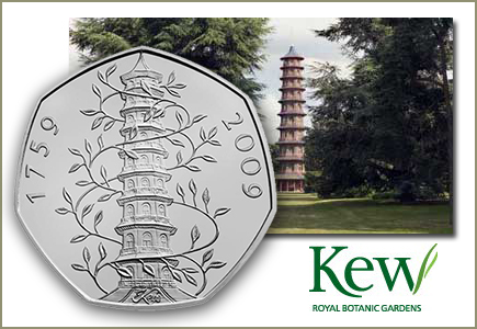 Kew Gardens 50p, the UK's Rarest Circulating Commemorative Coin