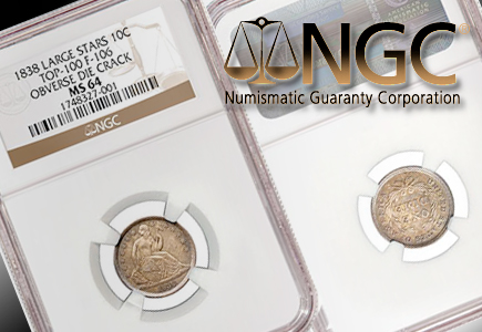 NGC Recognizes Top 100 Liberty Seated Dime Varieties