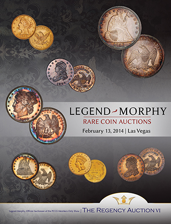 regency Legend Morphys Sixth Regency Rare Coin Auction Excites with over $2.5 Million, Brings Big Numbers on Gold