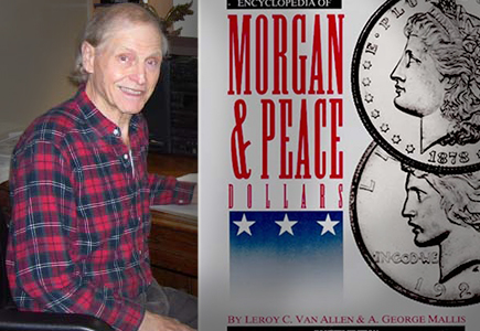 Van Allen Publishes Two Supplements to the Encyclopedia of Morgan and Peace Dollars