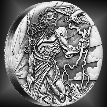 zeus2 Exclusive Interview with Perth Mints Zeus Silver Coin Designer Tom Vaughan