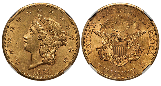 1854s20 Coin Collecting: Why is San Francisco Gold Hot Right Now?