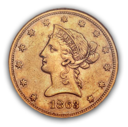 18631 Morgan Dollar collector hot on the trail of CC coins; California Gold Hoard ignites further interest in numismatics.