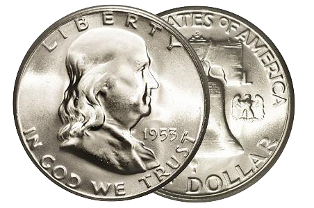 1953fran All About the Benjamins: Why You Should Collect Franklin Half Dollars