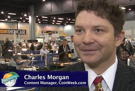 Charles Morgan Joins CoinWeek.com as Content Manager. VIDEO: 2:13