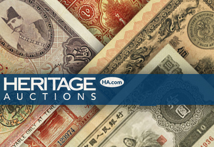 Heritage to Auction Important Ruth Hill World Currency Collection
