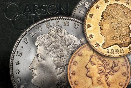 Morgan Dollar collector hot on the trail of CC coins; California Gold Hoard ignites further interest in numismatics.