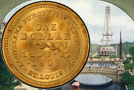 Rare Gold Coins for less than $5000 each, Part 2: Commemorative One Dollar Gold Pieces