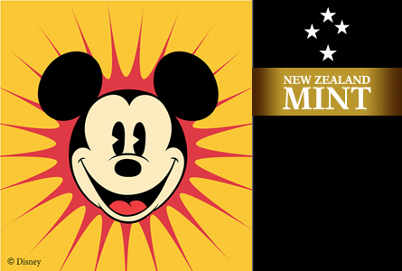 disney1 New Zealand Mint to Produce Disney themed Coins