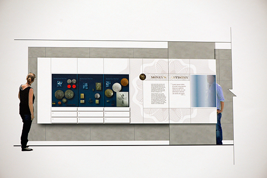 exhibit1 Visual Diary: Smithsonians Plans for the new National Numismatic Collection Exhibit Unveiled