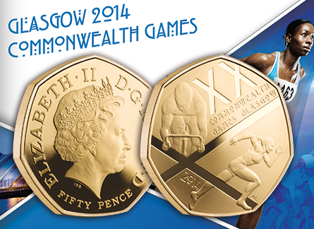 Glasgow 2014 Commonwealth Games Proof Coins Unveiled