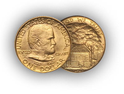 grantstar Rare Gold Coins for less than $5000 each, Part 2: Commemorative One Dollar Gold Pieces