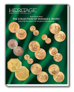 heritage1 Ultra Rare Gold Coins Offered in Heritage Auctions Upcoming Bently Sale