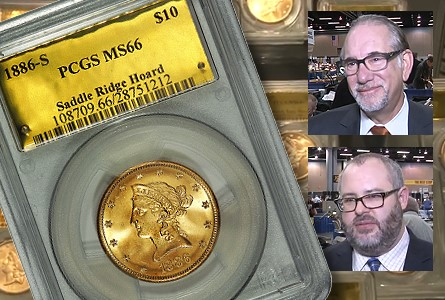 Kagin Unveils Saddle Ridge Buried Treasure Gold Coins at ANA National Money Show. VIDEO: 3:16