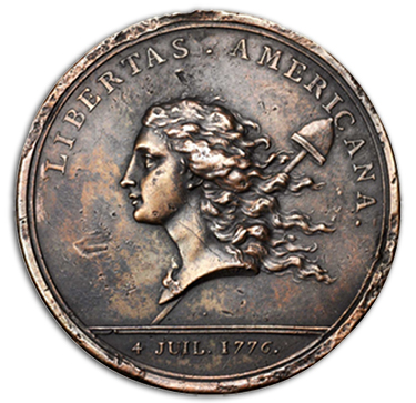 medal Libertas Americana to Headline Stacks Bowers Baltimore Coin Auction