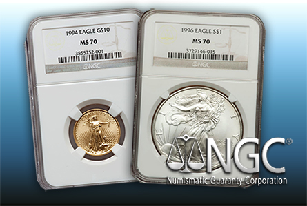 NGC has Expanded CrossOver Service to include MS70, PF70 and SP70 Coins