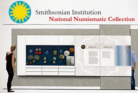 Visual Diary: Smithsonian's Plans for the new National Numismatic Collection Exhibit Unveiled