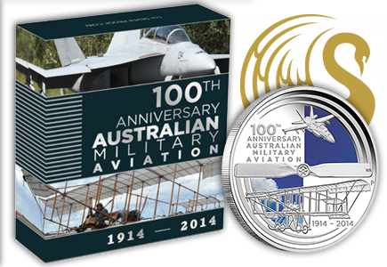 Perth Mint Honors the Evolution of Australia's Military Aviation