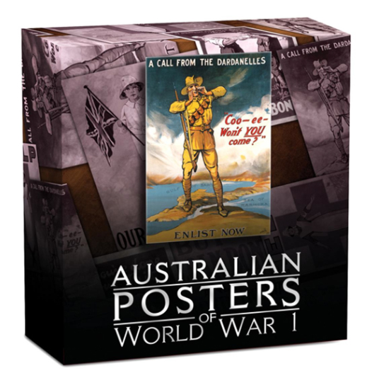poster1 Australian Posters of World War I Celebrated on New Perth Mint Coins