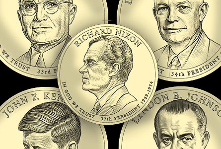 From Truman to Ford: Presidential Dollar Designs Unveiled