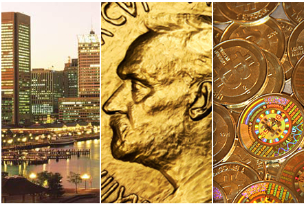 Numismatic Quick Hits: Crossing Over + Whitman Expo in Baltimore + Missing Bitcoins Found