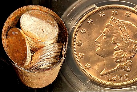 COOL COINS! from the Saddle Ridge Buried Treasure Gold Hoard. VIDEO: 2:00